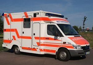Rettungswagen, RTW, MB Sprinter 313 CDI - Binz